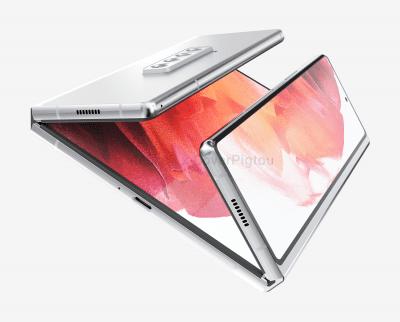 Galaxy Z Fold3 renders