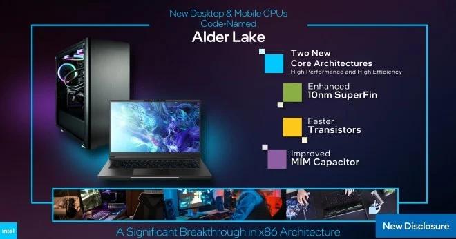CES 2021: Intel Reveals New Core i9 'Alder Lake' Chip