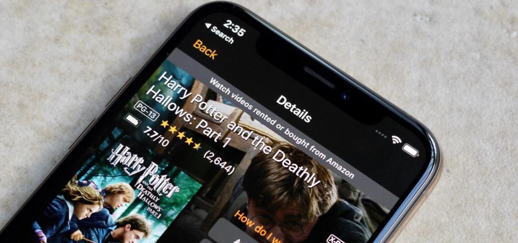Amazon Prime Video Mobile
