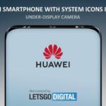 Huawei under display