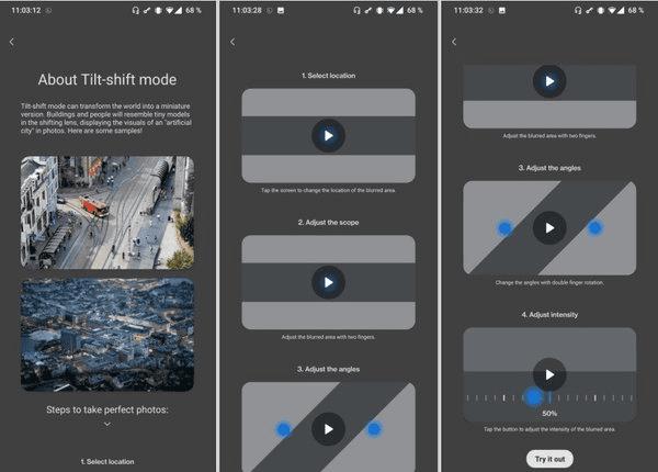 OnePlus 9 Camera Mode