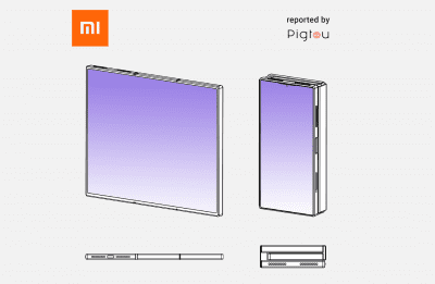 Xiaomi triple fold design