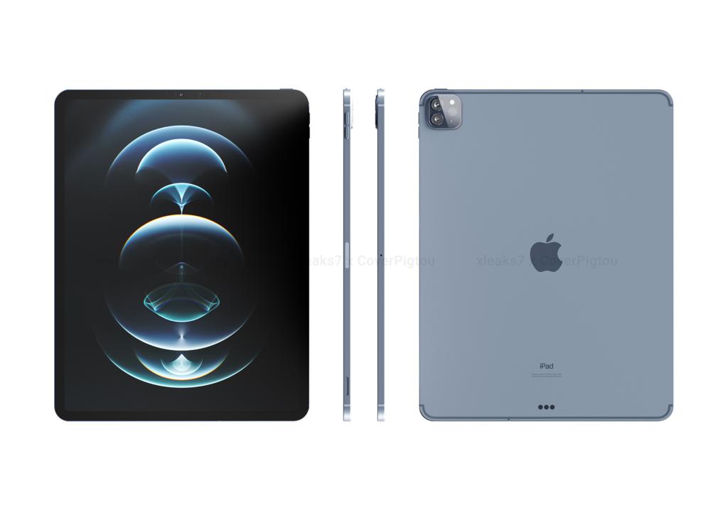 iPad Pro 12.9 inch renders