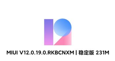 Mi 11 MIUI 12.0.19 update