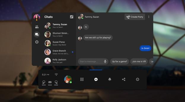 Oculus Messenger