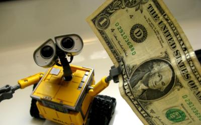 Robots With Money