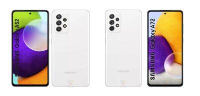 Samsung Galaxy A52 and Samsung Galaxy A52