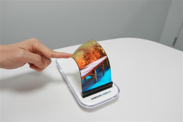 Flexible OLED panels