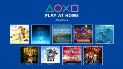 Sony Play at home Games