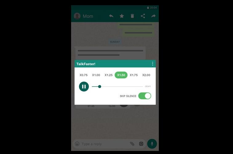 WhatsApp Voice Speed