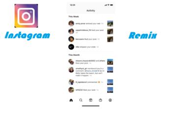 Instagram remix