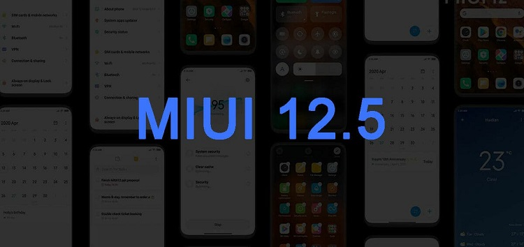 Redmi 7A is receiving now MIUI 12.5 Update
