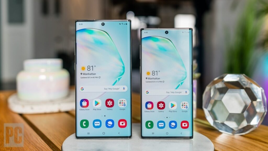 Galaxy Note 10 - Note 10 Plus - Note 10 Plus 5G