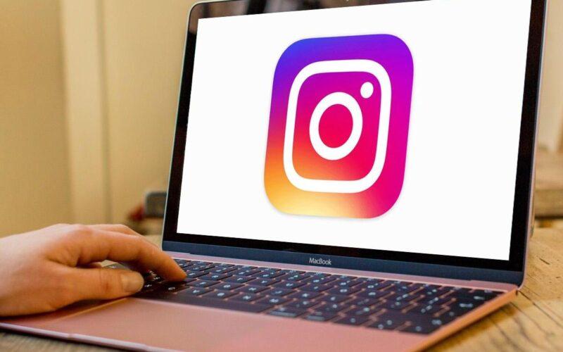 Instagram on Laptops and Desktops