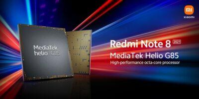 Redmi Note 8 2021 with Helio G85 SoC