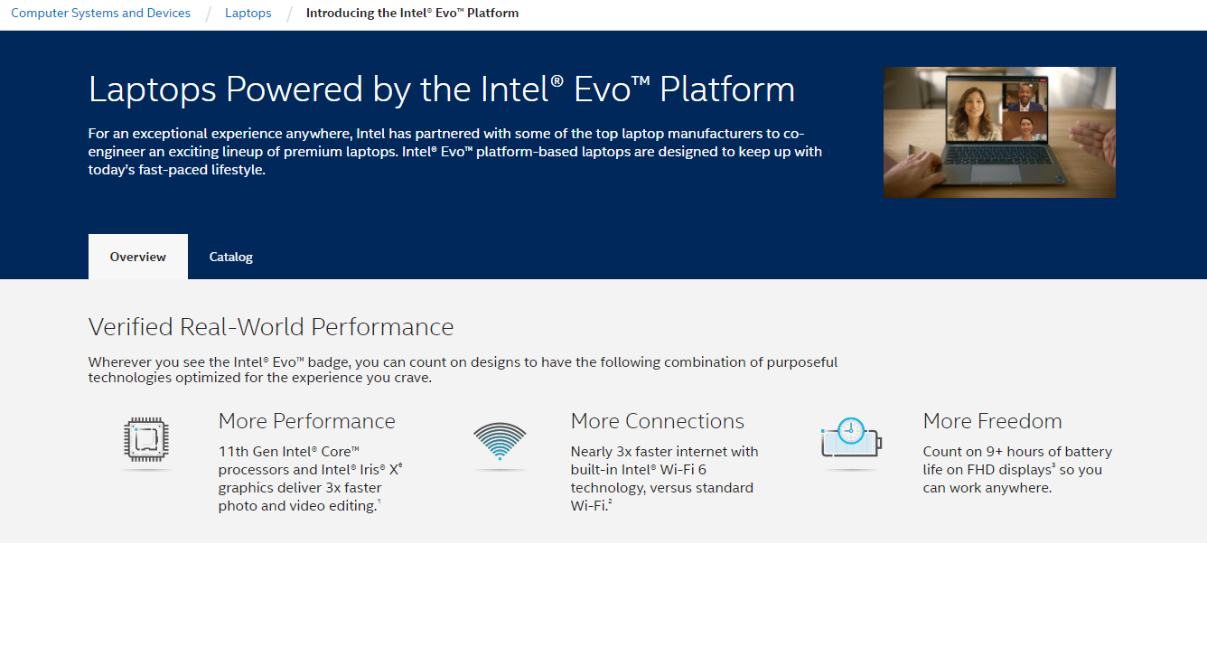 Intel Evo Platform