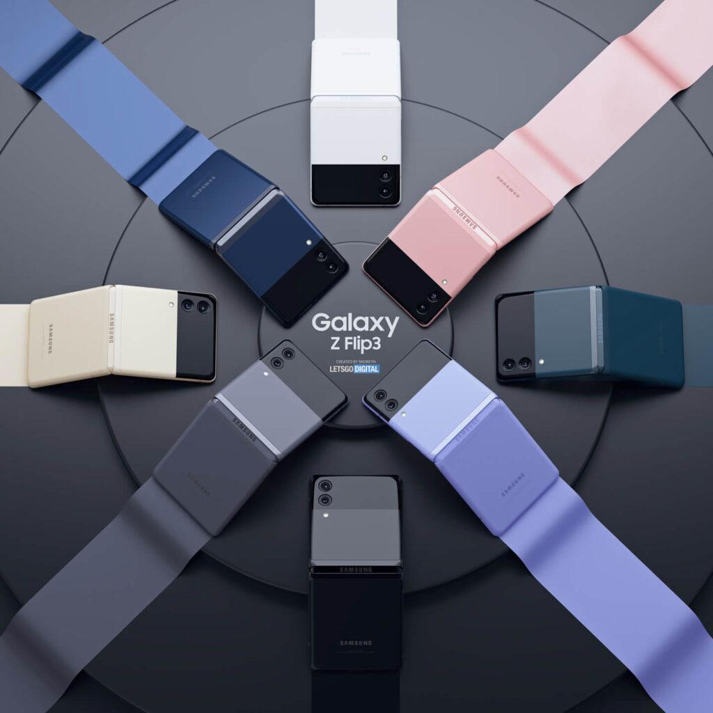 Samsung Galaxy Flip 3 Might Come in 8 Colors
