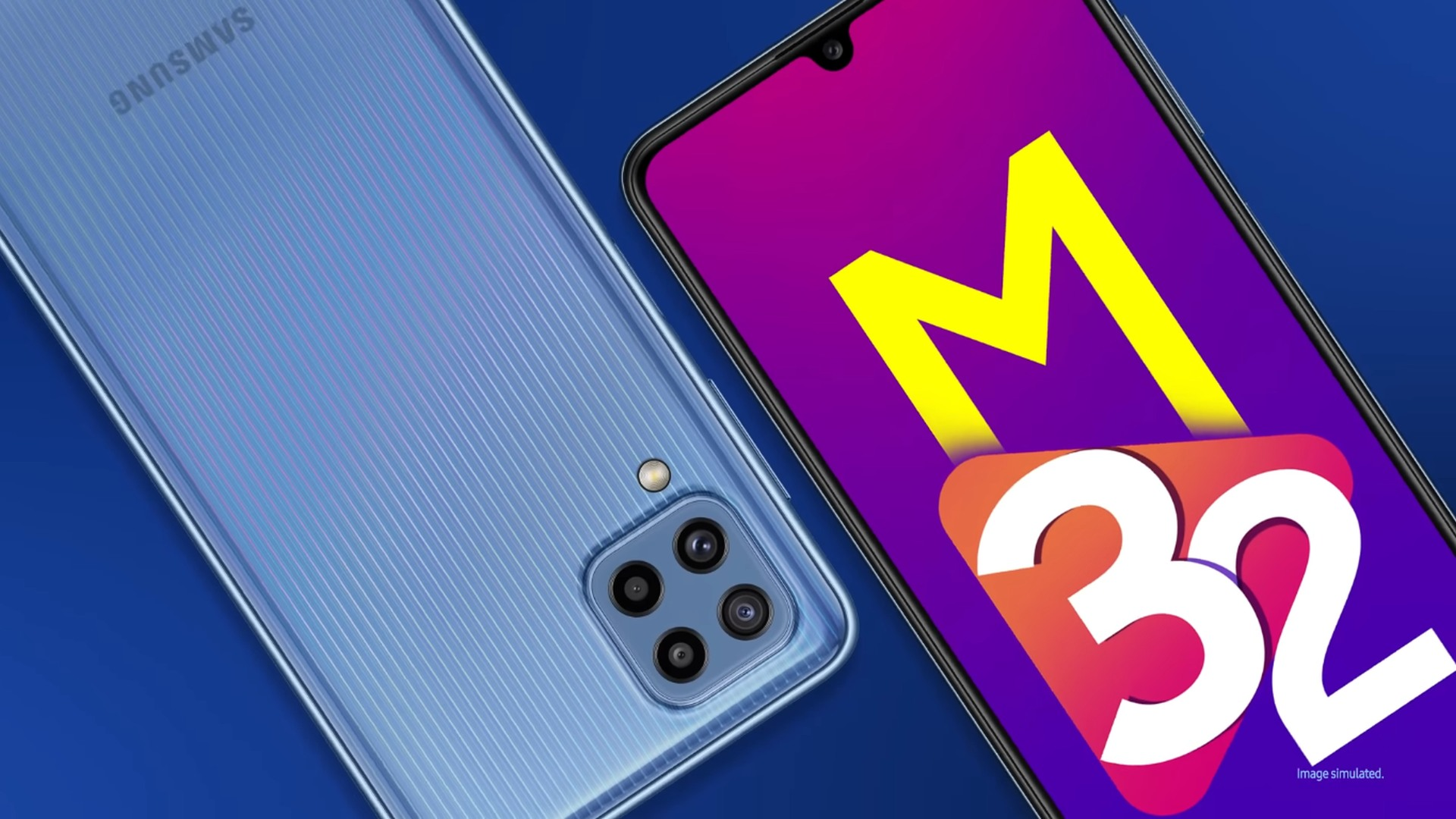 Samsung Galaxy M32 with 6000mAh Battery