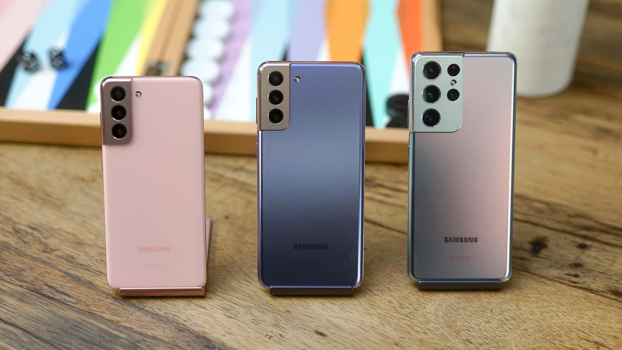 Samsung Galaxy S21 - Galaxy S21+ - Galaxy S21 Ultra