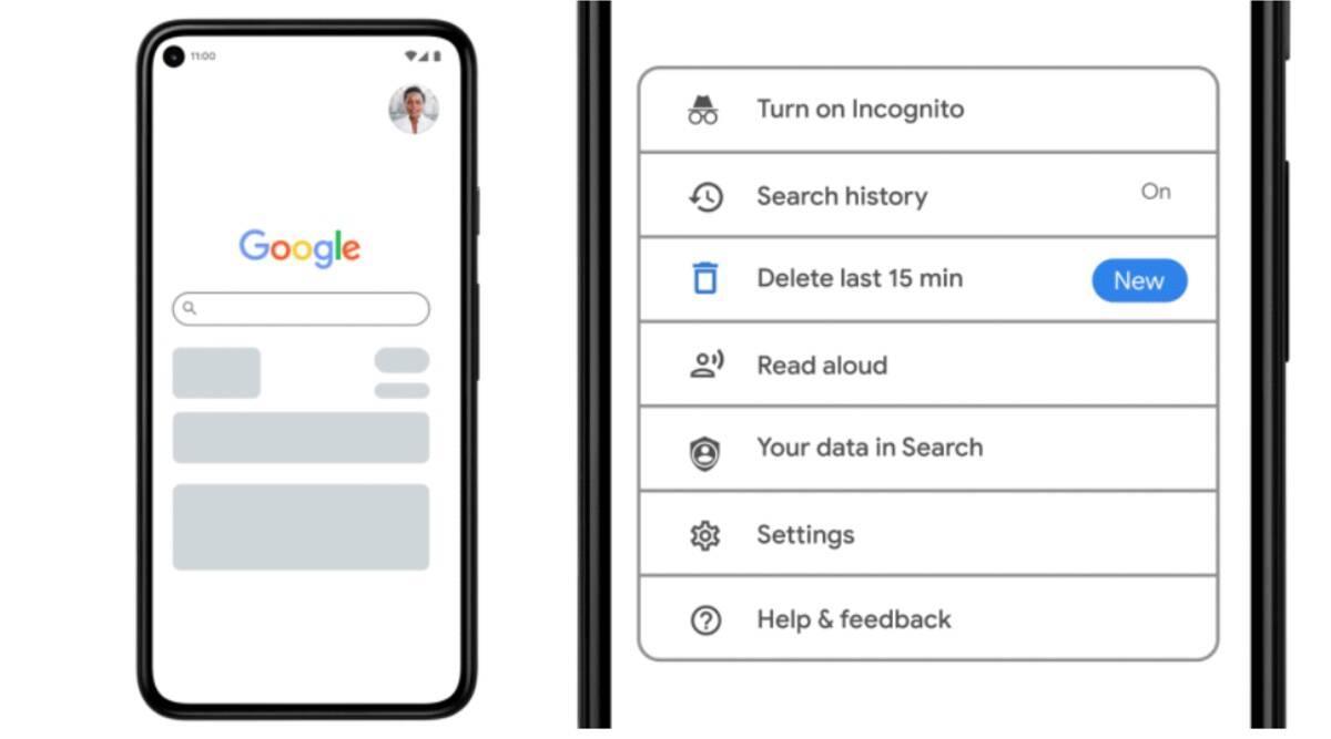 Google Chrome Instant Histroy Deletion Feature