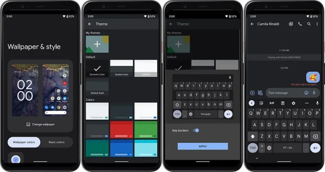 Gboard Android 12