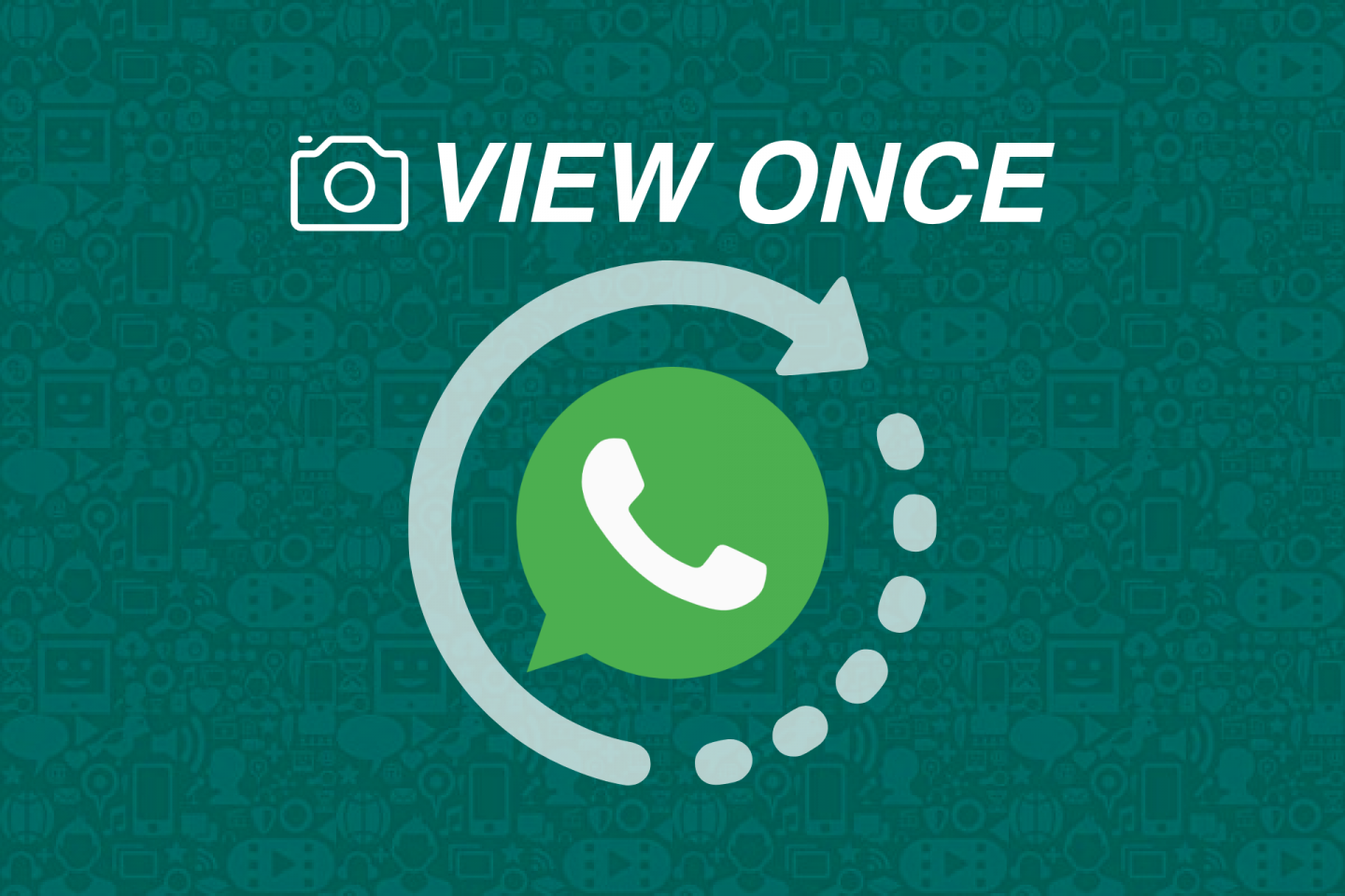 WhatsApp - View Once - Disappearing Feature