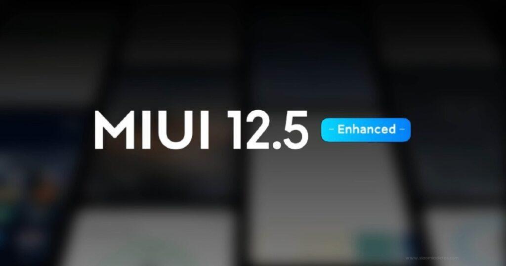 Xiaomi MIUI 12.5 Enhanced Version