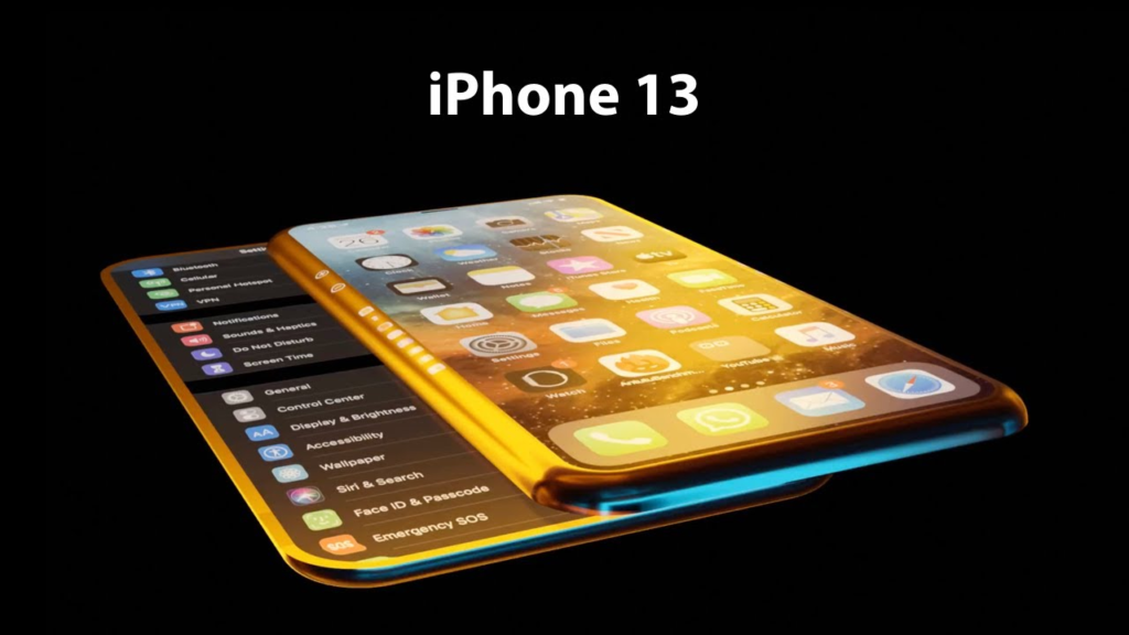 iPhone 13 buttons