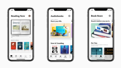 Apple audio books