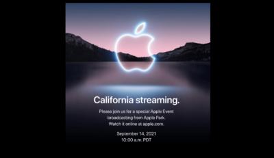 Apple iPhone event