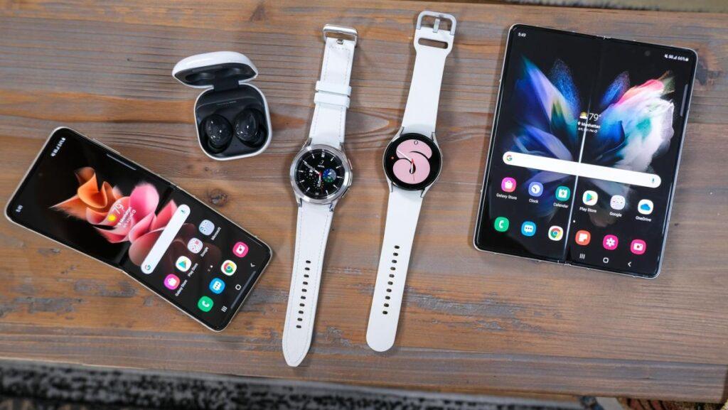 Galaxy Z Fold 3, Galaxy Z Flip 3, Galaxy Watch 4 Series, and Galaxy Buds2