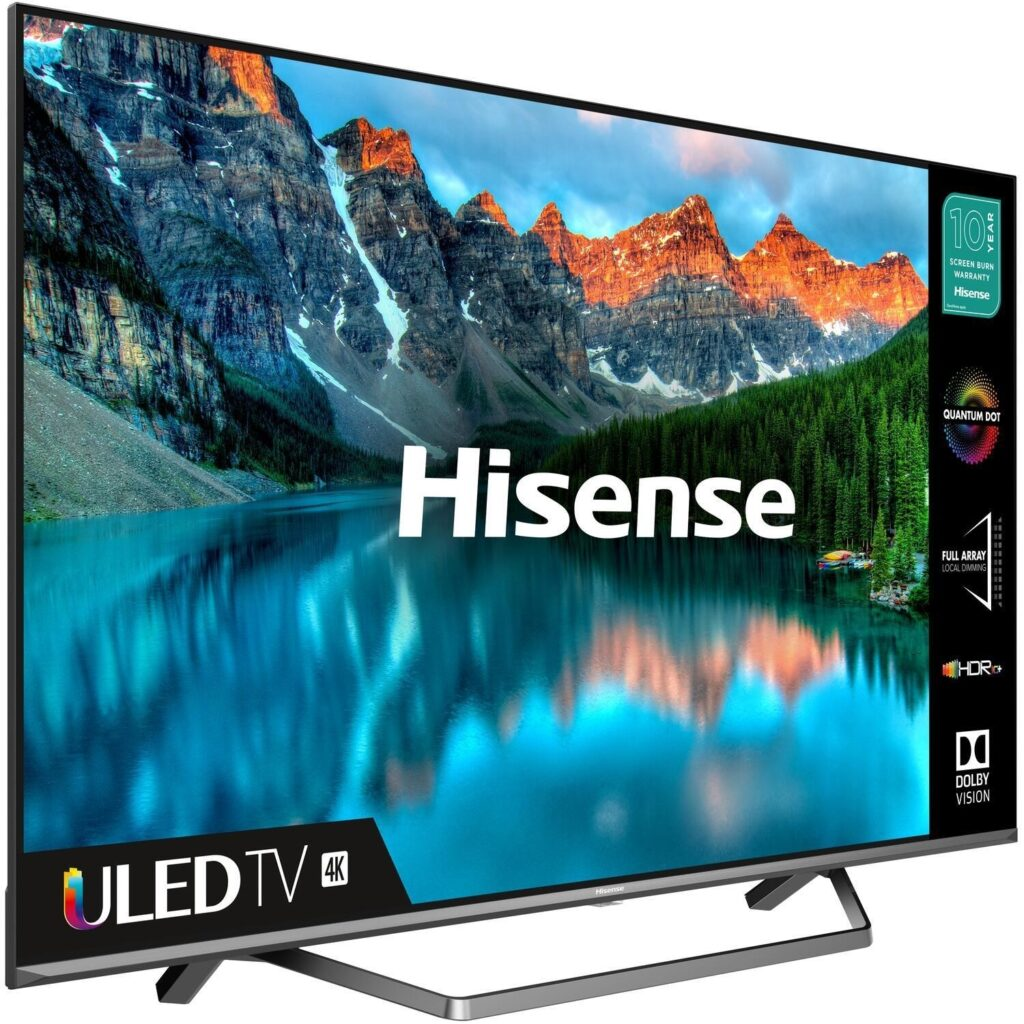 HiSense 55 Inch QLED Smart TV