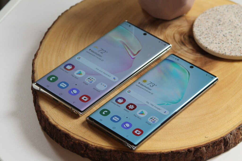 Samsung Galaxy Note 10 5G and Note 10+ 5G