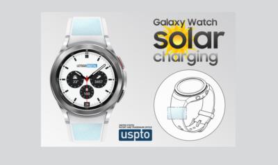 Solar charging watch