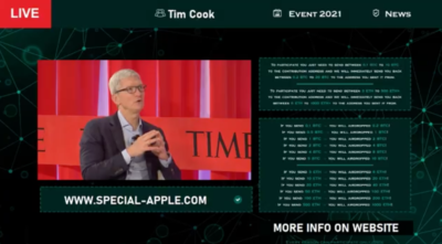 Fake Apple Event