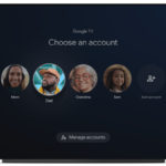 Google TV Profiles