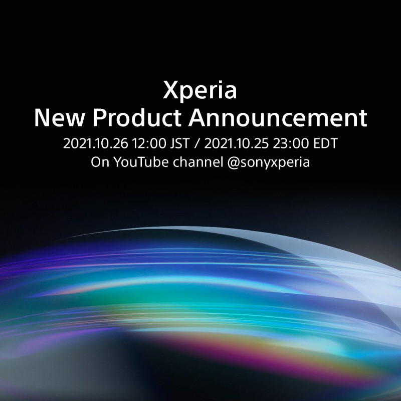 Sony Xperia Smartphone - October 26th